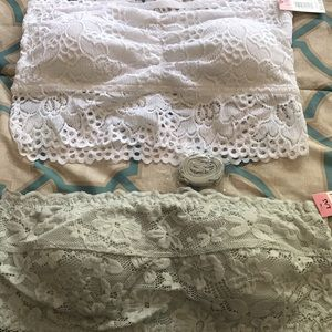 Lace bralettes bundle